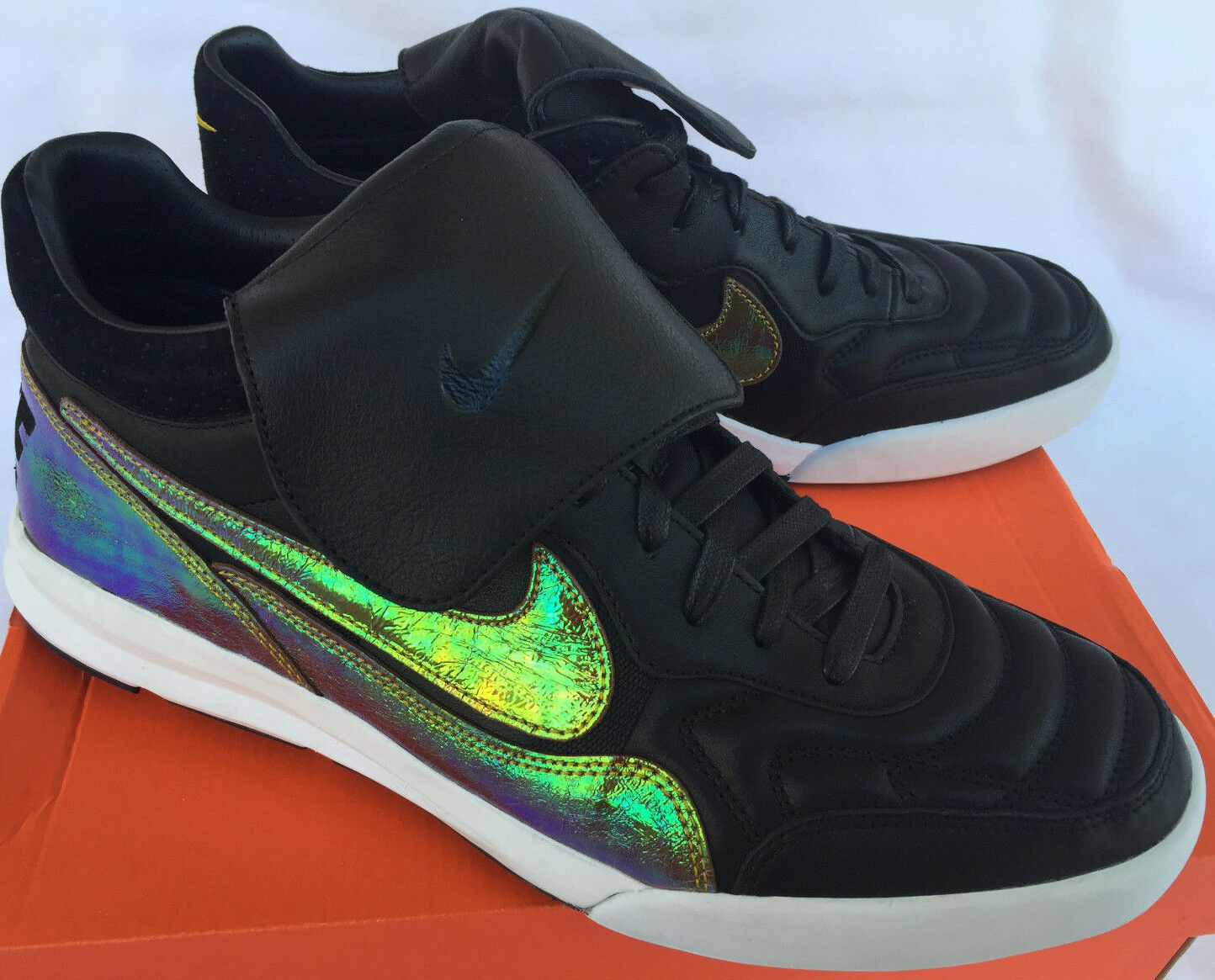 Nike Tiempo NSW Tiempo Nike '94 Lunar Mid TP QS 669908-003 Soccer Chaussures  Hommes 8.5 Futbol new 24f950