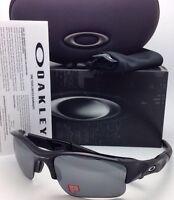 Polarized Oakley Sunglasses Flak Jacket Xlj 12-903 Black W/ Black Iridium Lenses
