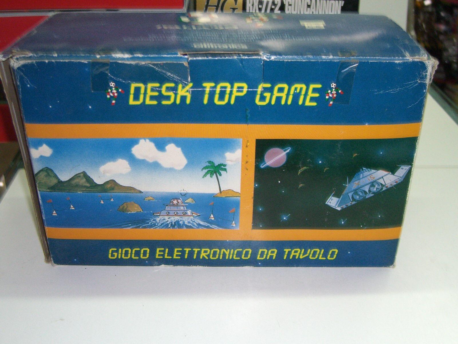 Italia'90 citytronics Electrónico Soccer Fooball Juego De Mesa Escritorio Mib
