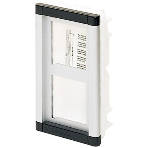 scatola incasso Placca portamoduli TERSYSTEM 2 mod BTICINO TERRANEO 2252