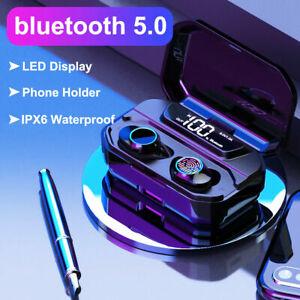 Bluetooth-5-0-Headset-TWS-Wireless-Earphones-Mini-Earbuds-LED-Stereo-Headphones
