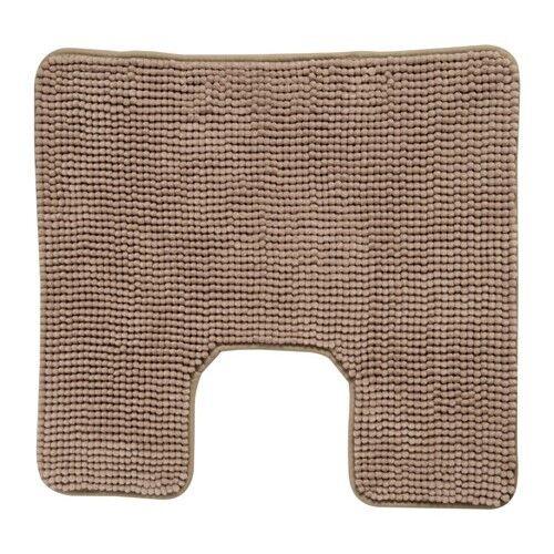 1 of 1 - IKEA TOFTBO Anti-Slip Microfibre Pedestal Mat Bathroom Toilet Rug 55x60 cm Beige