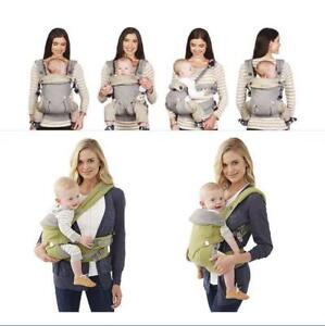 322b598400a Ergo 360 Four Position Newborn Baby Carrier TRI slings Dusty Infant ...