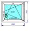 miniature 19 - Finestre in PVC con 2 lastre di vetro termico larghezza: 850 mm scelta l'altezza