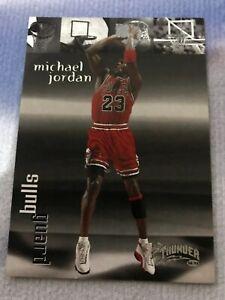 Michael Jordan 106 THUNDER 1998 SKYBOX