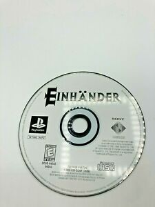 Sony-PlayStation-1-PS1-Disc-Only-Tested-Einhander-Ships-Fast
