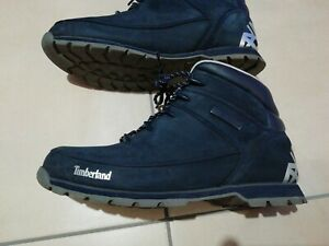 Details zu Timberland Herren Halb Stiefel Schuhe Marine Blau Gr 46. 5 Top Zustand