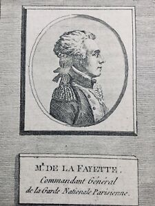 M-de-La-Fayette-Lafayette-Rare-Gravure-de-la-Revolution-Francaise