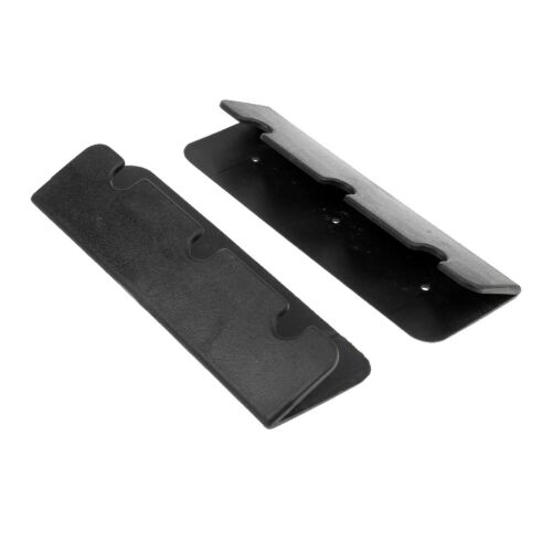 2 x Boat Seat Hook Clips Brackets for Inflatable Boat Rib Dinghy Kayak Black