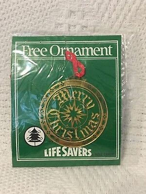 VINTAGE LIFE SAVERS CHRISTMAS ORNAMENT-NOS-NEW IN ORIGINAL ...