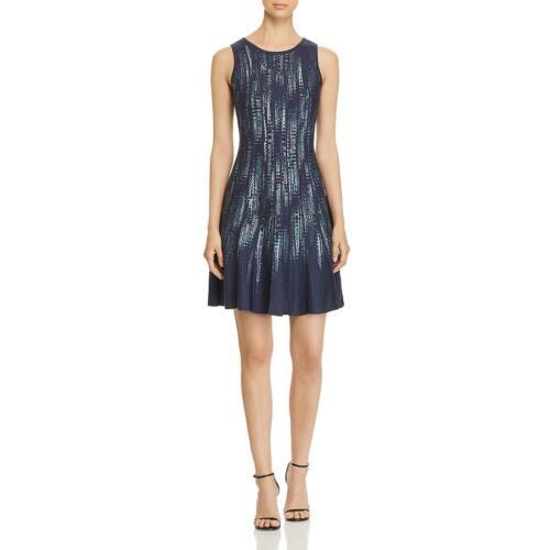 Nic Zoe Womens Knit Sleeveless Crew Neck Casual Dress BHFO 1711
