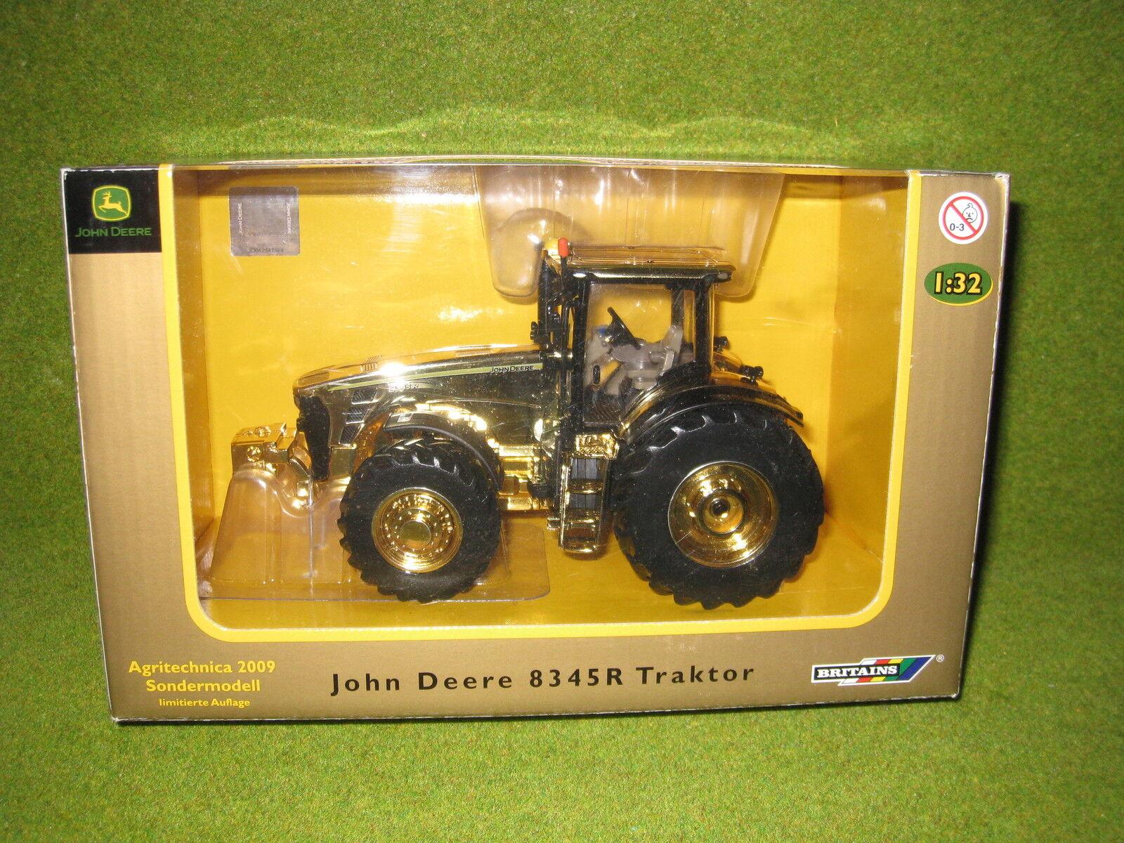 Ertl  Britains  John Deere 8345R golden, Agritechnica, 1 32