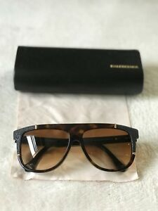 2eade46ff0 Brand New BALENCIAGA Sunglasses BA 0010 20B BLACK For Women 100 ...