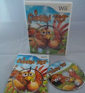 Nintendo-Wii-Console-Game-Chicken-Riot