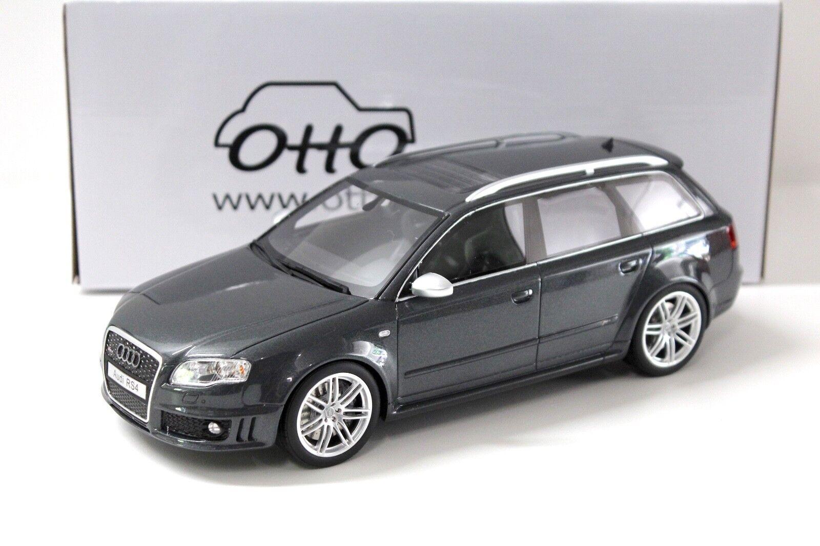 1 18 OTTO Audi RS4 Avant B7 daytona grau NEW bei PREMIUM-MODELCARS