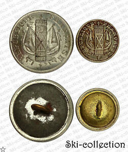 2-Popper-Button-Guard-National-1870-1871-France-22-15-Mm-Variant