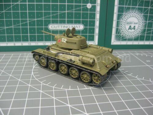 Unimodel 369 T-34//76-57 Soviet Tank with ZIS-4 Gun WW II 1//72 scale