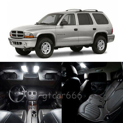 10 x Xenon White Interior LED Lights Package For 1998-2003 Dodge Durango TOOL