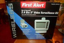 "First Alert Wireless B/W Video Surveillance Camera and 5"" Monitor - FAW-703"
