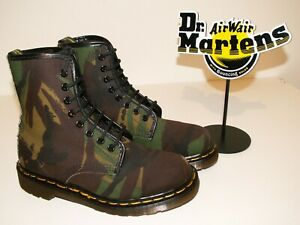 Dr. Martens 1460 CAMOUFLAGE ARMY canvas