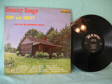 Reno & Smiley, Country Songs, King Records 701, 1961, Bluegrass, Country