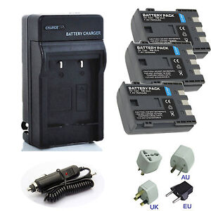 Rechargeable Battery Charger Pack Fo Canon Pc1018 Nb 2jh