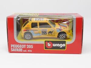 1-43-BBURAGO-BURAGO-DIE-CAST-METAL-MODEL-4116-PEUGEOT-205-SAFARI-QL3-023