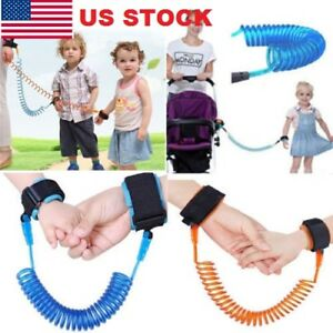Toddler Baby Children Wrist Link Child Walking Safety Rein Strap Harness Blue