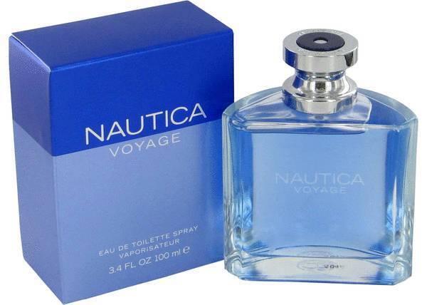 NAUTICA VOYAGE * Cologne for Men * 3.3 / 3.4 oz * 100 ml BRAND NEW IN BOX SEALED