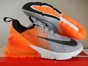 best sneakers arriving various colors Details about NIKE AIR MAX 270 ID ORANGE-PURE PLATINUM-GREY-BLACK-WHITE SZ  7.5 [AT7467-993]