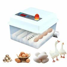16 Eggs Automatic Digital Hatcher Egg Incubator Turn Poultry Chicken Duck Bird