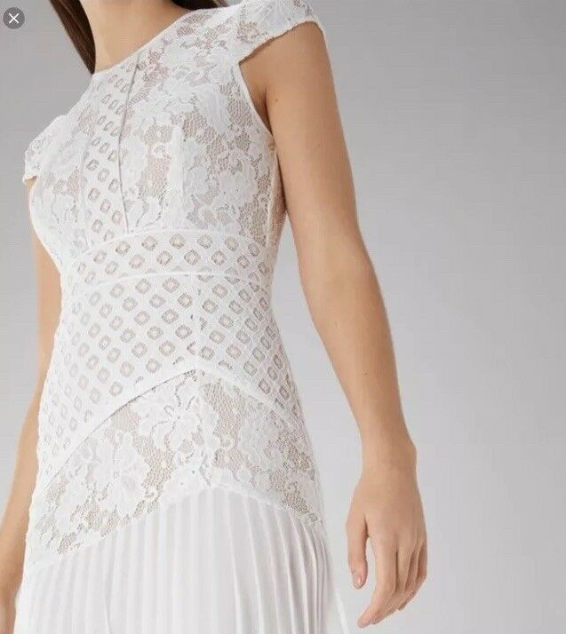 NUOVA incredibile COSTA   (Taglia (Taglia (Taglia 24 UK) Wendy pizzo Shift Dress, avorio cacf56
