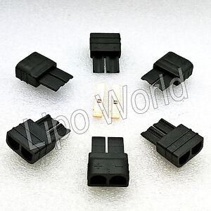 TRAXXAS-TRX-STECKER-MALE-Goldkontakte-Modellbau-Adapter-Kabel-Lipo-Akku