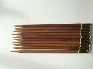 Chinese-brushes-watercolour-ink-calligraphy-bamboo-and-wolf-hair-x-10-Large