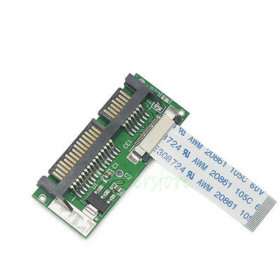 "1.8"" 24 Pin SATA LIF HDD To Mini 7+15 Pin 22 Pin Male SATA Adapter Converter"