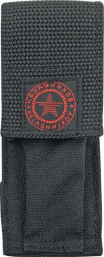 Boker Negro Vaina de cinturón de nylon Kalashnikov cuchillo plegable con logotipo en rojo 090064