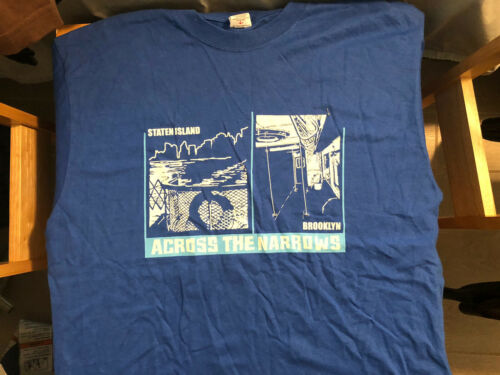 Across The Narrows 2005 Concert Shirt L Unworn Rar