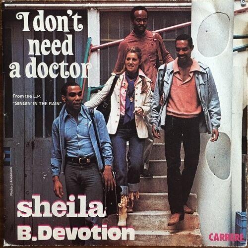 Sheila-B-Devotion-I-Don-039-t-Need-a-Doctor-Vinyl-7-034-45T-Single