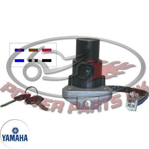 For Yamaha Ignition Switch Dt 125 Lc Mk 2 Disc 1985