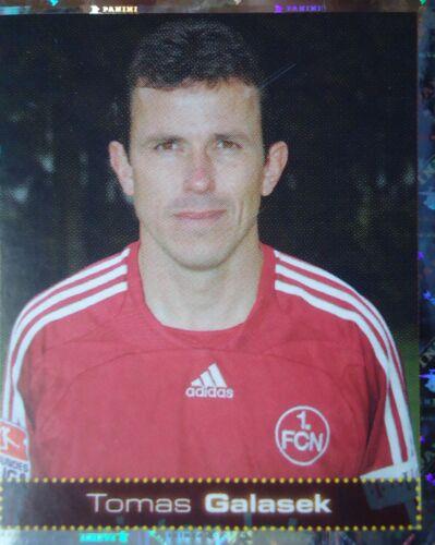 FC Nürnberg Panini 374 BL Fussball 2007//08 Tomas Galasek 1