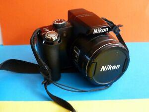 Nikon-Coolpix-P90-Appareil-photo-numerique-compact-avec-chargeur-et-sacoche