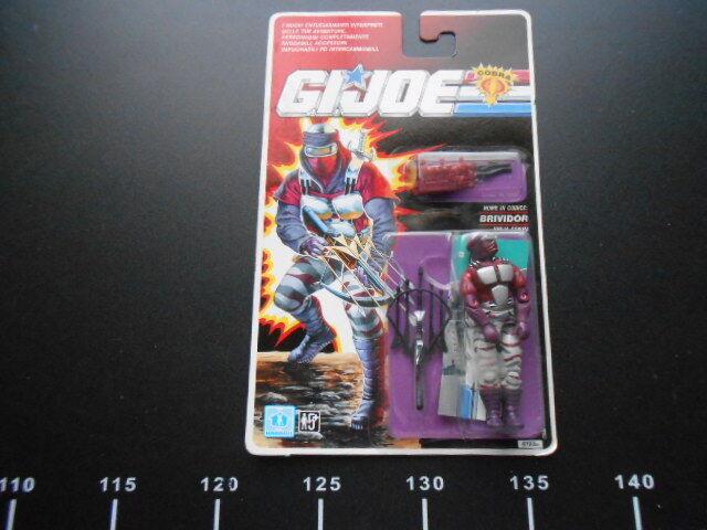 HASBRO G.I.JOE Cobra Natt CREPER Action Figur Brividor Sällsynt GiJoe