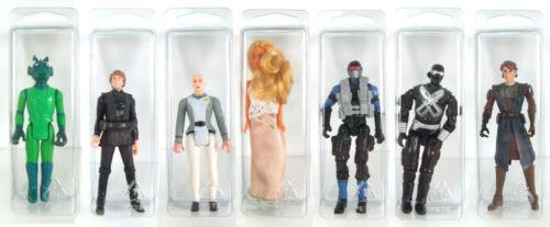 "Star Wars//GI JOE 100 x figura di piccole dimensioni-Loose BLISTER casi 4.5/"" x 1.5/"" x 1.25/"""