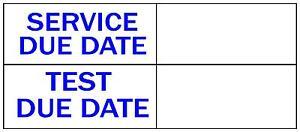 10-X-Quantite-70X30MM-Service-Test-Due-Date-Autocollant-Coach-Psv-Hgv-Taxi