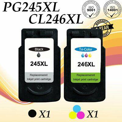4PK Black Color Ink Combo PG245XL CL246XL Fit for Canon PIXMA MX490 MG2924 MX492