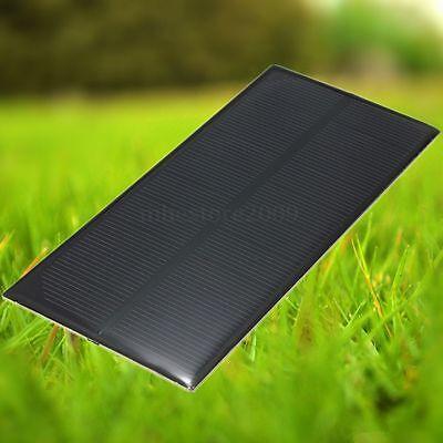 5V 1.5W 300mA 150x69mm Monocrystalline Solar Panel DIY For Cellphone Battery New