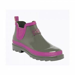Regatta-Juniper-Womens-Ankle-Height-Welly-Wellington-Boots-Shoes-RRP-25