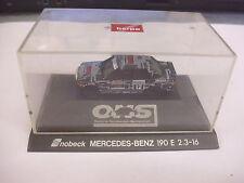 Herpa 1:87 MB Mercedes Benz SNOBECK 190E 2.3-16  Lö49/5376/24