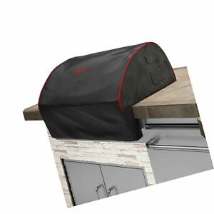 Details About Bull Outdoor Products 56006 Grill Cover Black With Red Trim