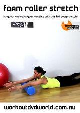 Stretch Yoga EXERCISE DVD - Barlates Body Blitz FOAM ROLLER STRETCH!
